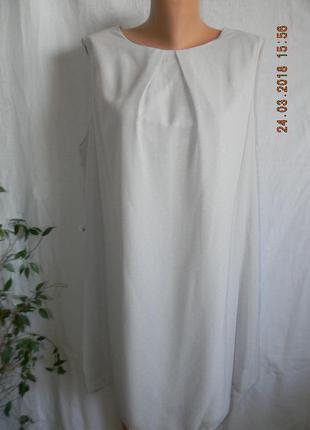 Новое нежное платье в горошек большого размера