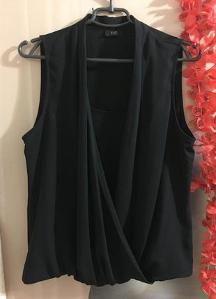Шикарная блуза на запах f&f