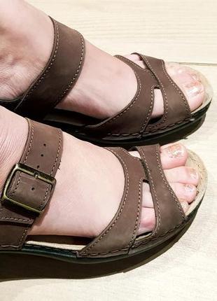 Туфли боссоножки кожа натуральная цвнта хаки