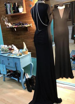 Шикарное вечернее платье forever unique с шлейфом