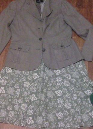 Льняной пиджак per una marks&spencer