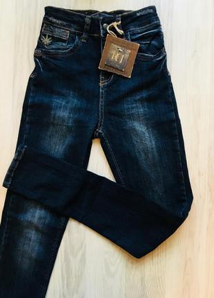 Стильные джинсы скинни высокая посадка, высокая талия, американки 25,26р