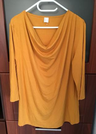 Блуза- туника большого размера 20, наш-54
