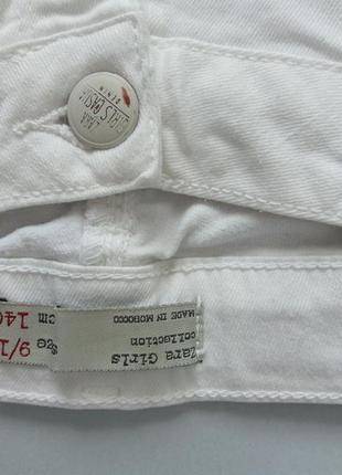 Білі джинси zara4 фото
