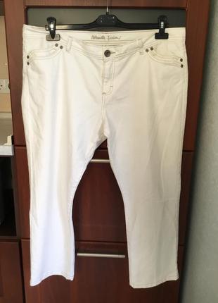 Укороченные джинсы большого размера-20,наш - 54.