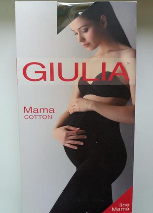 Теплые колготки для беременных giulia маma 200
