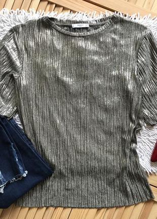 Трендовая блуза с напылением