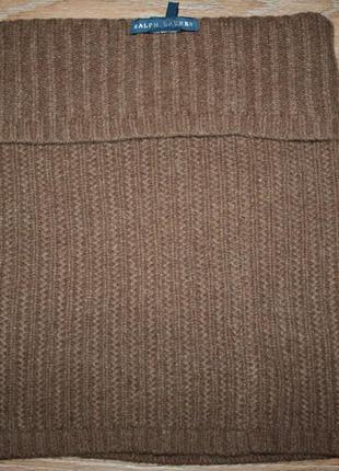 Шарф-бафф ralph lauren wool neck warmer