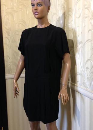 Оригинальное черное платье, & other stories, размер 36/s-м