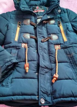 Детская зимняя куртка botaoyu
