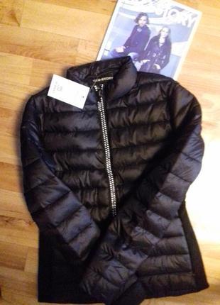 Гламурная куртка со стразами бренд