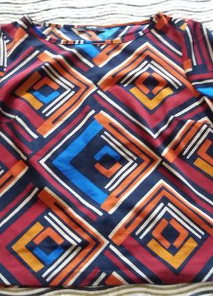 Блуза george  яркая нарядная