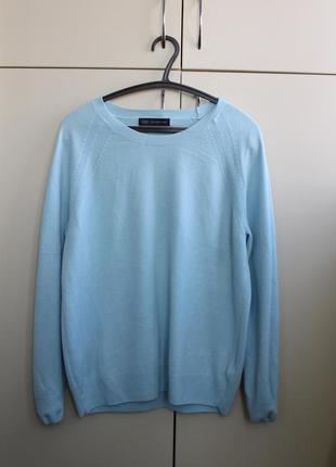 Джемпер пастельно-голубого цвета