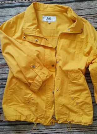 Женская куртка-пиджак коттон
