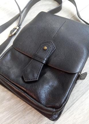 Торг! сумка мужская маленькая. кожа2 фото