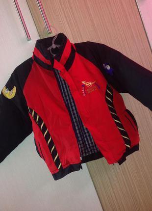 Оригінал ! тепла куртка-пуховик на хлопчика !