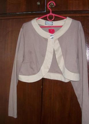 Болеро-накидка на платье