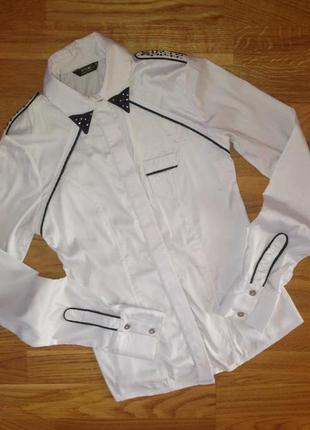 Білосніжна блуза від dishe ♥️with♥️love