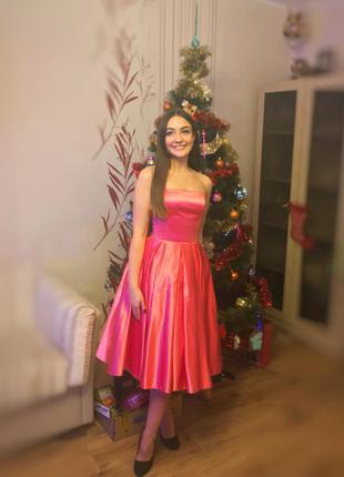 Выпускное / праздничное платье с корсетом
