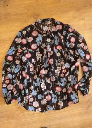 Стильная блуза 50 размер