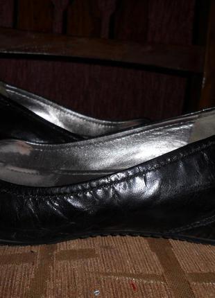 Брендовые туфли из натуральной кожи!