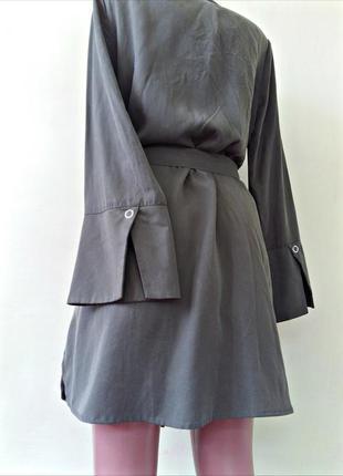 Тренч актуальное платье-рубашка - на весну от mango