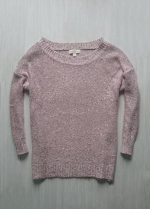 Красивый свитерок пудрового цвета
