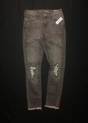 Рваные джинсы old navy s-m (34) самый модный цвет