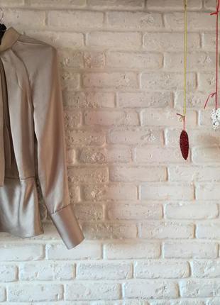 Бежевая блуза karen millen