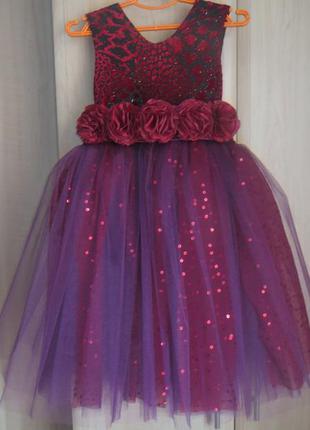 Сукня святкова, 5-7 років