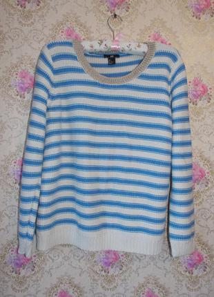 Полосатый свитерок h&m1 фото