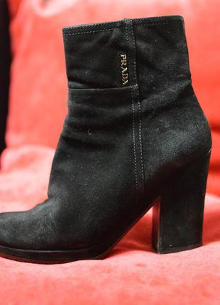 Осенние ботиночки prada