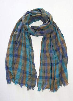 Стильный шарфик унисекс из 100% коттона из германии.