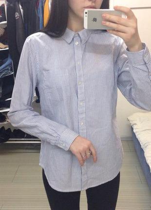 Рубашка в полоску selected femme