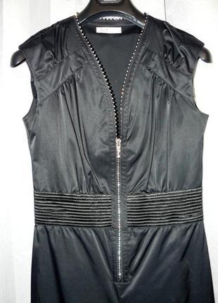 Черный комбинезон / jumpsuit  h&m by madonna