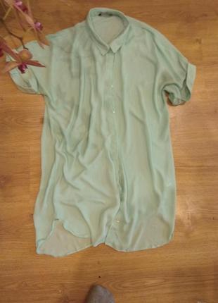 Длинная блуза 48 размер