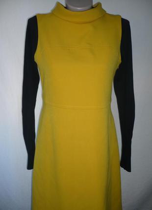Платье, без рукавов, желтый цвет, р.12-14.