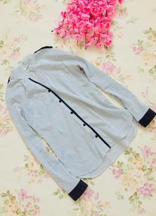 Блуза в горошек / нарядная рубашка/классическая блуза