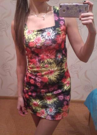 Новое короткое летнее платье