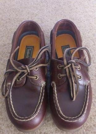 Туфли кожаные timberland размер 31.