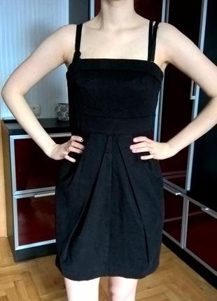 Черное платье vero moda