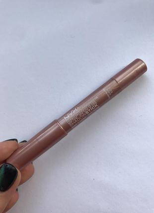 Тени-карандаш nyx infinite shadowstick