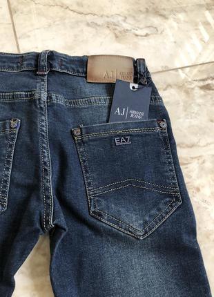 Модные джинсы armani, турецкое качество