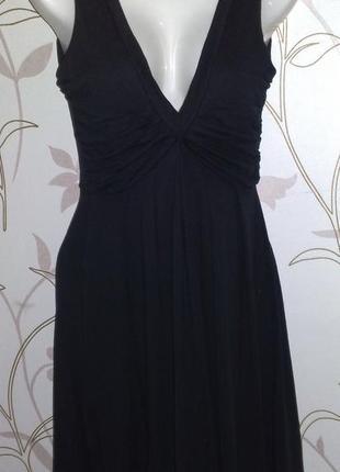 Черное романтичное платье zara
