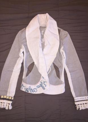 Стильный пиджак angels never die