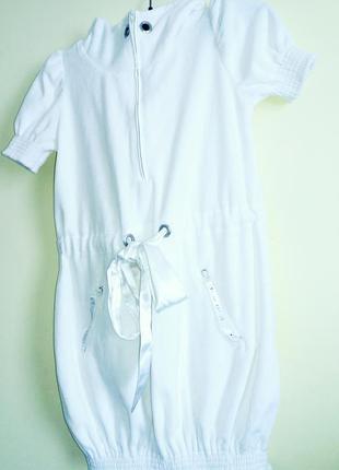 Милая туника-платье с капюшоном в камнях1