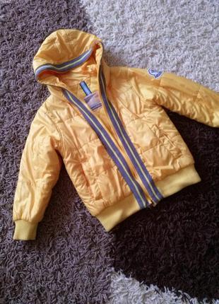 Стильная деми куртка монклер  для модника