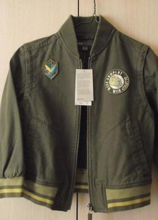 Стильна нова куртка mexx (zara, next), 110-116