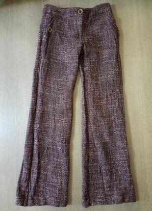 Шерстяные брюки patrizia pepe