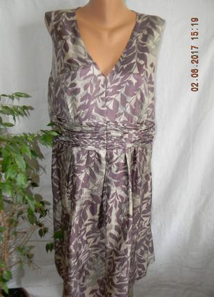 Платье из натурального шелка betty jackson